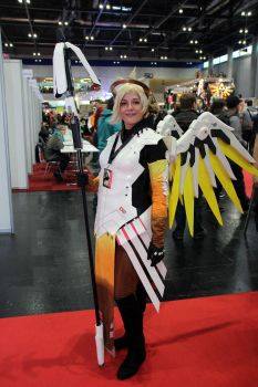 Mercy Cosplay from Overwatch by mariilicious
