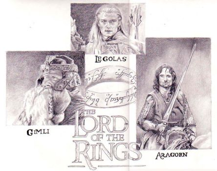 The Lord of the Rings_Warriors by queenlin