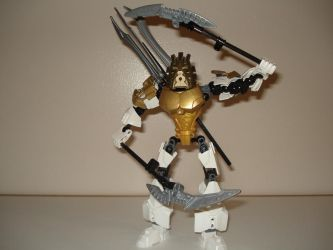 Takanuva Master Of Light (with Light Staves) by andrell