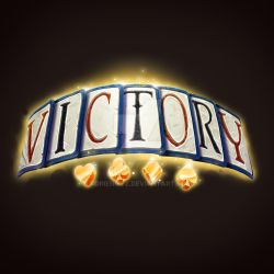 Card game victory banner by AdrienMTZ