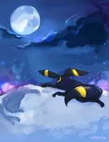Pokemon Umbreon by Velsinte