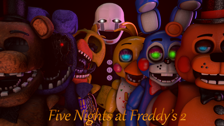 Five Nights at Freddy's 2 by UltimateJayz