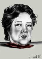 Madame Delphine LaLaurie by AlexanderlsPortraits