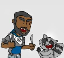 Twd game: I eat the s#%t out of that raccoon by Codexmas
