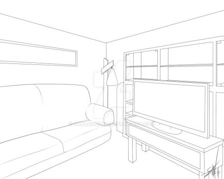 2 point perspective by SoraCooper