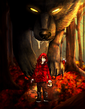 Little Red Riding Hood by Shadowwolf1220
