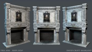 Fireplace by DavidCroftSharland
