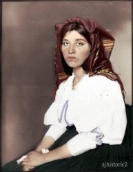 Italian Woman, 1906 by ajhistoric2