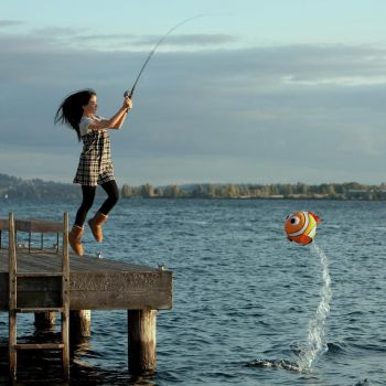 Fishing for Nemo by miss-beibei