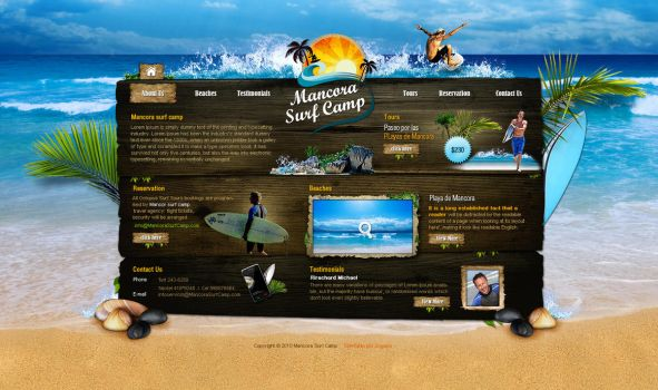 Mancora Surf Camp by sogaso