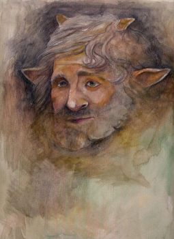Old faun by The-girl-in-Mirkwood