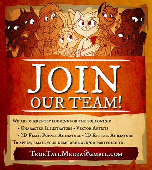 Join Our Team! by SkynamicStudios