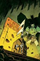 Sins of the Wreckers 3 cover by dcjosh