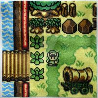 LoZ quilt square 2014 by merrywether