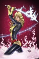 Magik - New Mutants by Carl-Riley-Art
