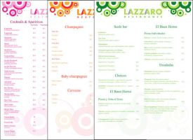 Lazzaro Resto Dance - Carta by cabezadecondor