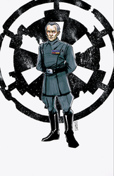 Grand Moff Tarkin by Hodges-Art