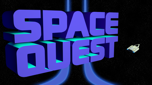Space Quest 2 1440p (Ship/II Streaks) by MusicallyInspired