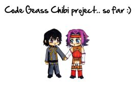 Code Geass chibi project unfin by ClaireySmiley
