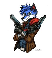 SonicFox5000 - Commission by TheLivingShadow