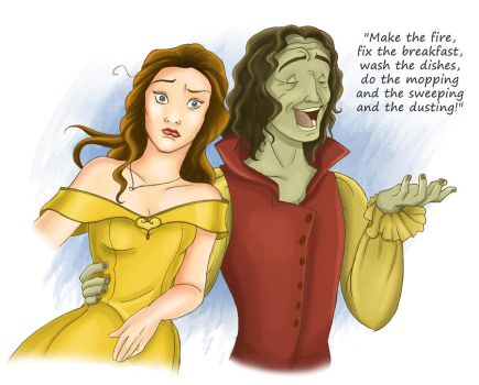 Belle and the Beast by RiverCreek