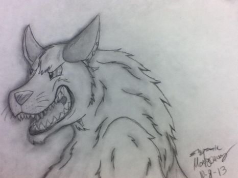 Angry doggie by Ember-Flame007