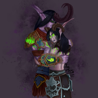 Embrace of the Illidari by ulvar