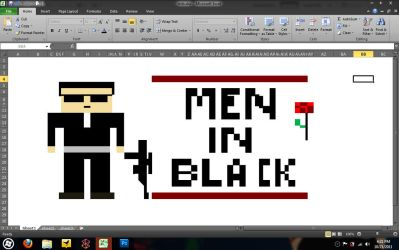 MIB comes out from my excel by die77