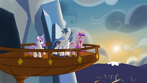 We Are One - Royal Crystal Family by CadetRedShirt