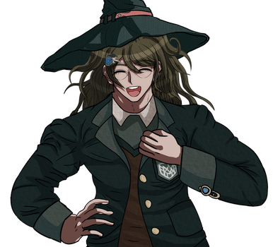what am i even doing (Danganronpa Sprite Edit) by EnderDurant