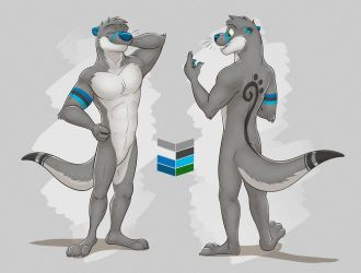 Commission: Austin's Reference Sheet by Temiree