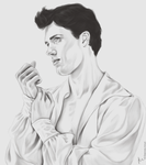 Roberto Bolle by elyhumanoid