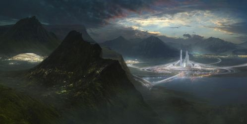 Lake City by Jessica-Rossier