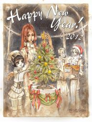 Happy new year 2012 with TB by WunderVogel