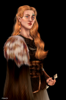 Val the Wildling Princess by chillyravenart