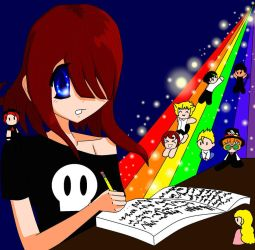 The writer by deathdiva54268