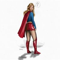 Go, Supergirl! by mmpietro1