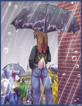 Rainy Monday by 0r0ch1