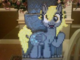 Custom Adult Full Body Derpy Commission by Perler-Pony