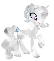 COMMISSION : Thyme as a Crystal Pony by BlackHoleII
