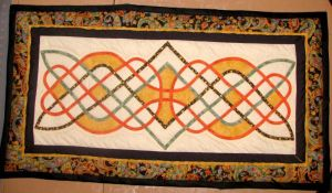 Morning Glory Celtic Quilt. by talyrath