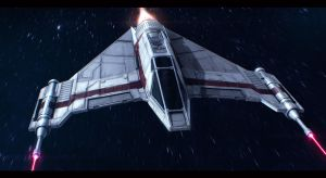 Star Wars Incom T-42 F-Wing by AdamKop