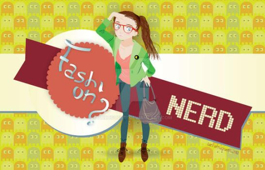 Fashion Nerd by arruguetti