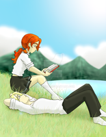 Rose and Scorpius::Summer talk by FEuJenny07