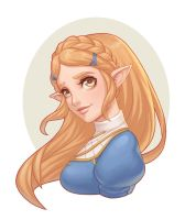 Zelda  - Commission by Norm27