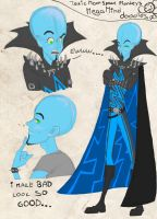 Megamind Doodles by ToxicNeonSpaceMonkey
