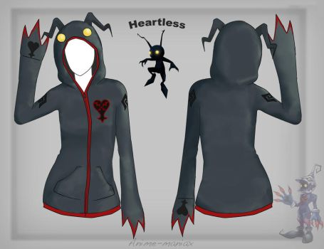 Heartless hoodie by Stalaxy