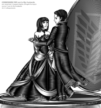 dA Points Commission - Louise and Levi by LifTilraun