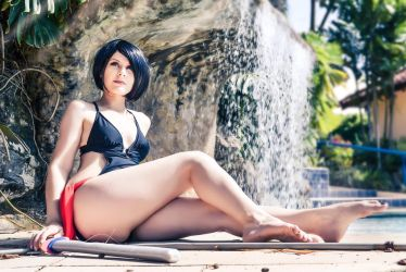 Fiora Pool Party - League of Legends by Ruty-chan