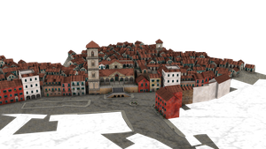 add a town to your background by madetobeunique